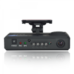 720p Wide Angle Dual Car Camera with GPS & Night Vision Dash Cam