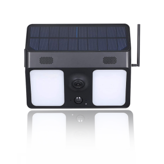 X8 - HD Wifi Solar Powered Flood Light Security Surveillance Camera