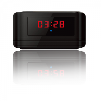 720p HD Spy Nanny Cam Motion Activated Alarm Clock